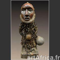 Fétiche à clous Nkisi Bakongo - ArtAfrica