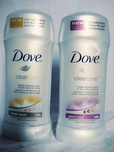 Dove Clear Tone Deodorant - In Jenn's Bag #dove #deodorant #cleartone