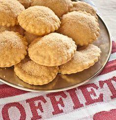 Una galletas holandesas: Arnhemse meisjes | Recetas con fotos paso a paso El invitado de invierno