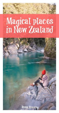 You can't miss these EPIC destinations on the South Island of New Zealand. Read more for road trip, destination & travel advice. Renee Roaming - wwww.reneeroaming.com. Travel / Wanderlust / Dream Destination / Bucket List / Magical Places