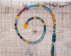 Removable Yellow, Blue, and Maroon Hair Wrap with Glass Beads – Songbird. Plaits Hairstyles, Bohemian Hairstyles, Loose Hairstyles, Indian Hairstyles, Bridesmaid Hairstyles, Hairdos, Thread Hair Wraps, Dread Wraps, Maroon Hair