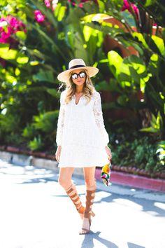 #summer #lace #dress