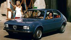 Alfa Romeo Alfasud.  Un ritratto dell'Italia degli anni '70. #alfa #alfaromeo #italiandesign