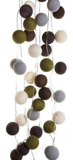 Cotton Ball Lights :: Gobi 20 kul