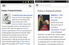 Wikipedia rolls out a completely redesigned mobile site, with an emphasis on type and readability  24TH OCTOBER 2012 by HARRISON WEBER