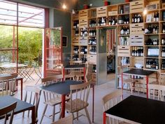 Erba Brusca: restaurant with biologic vegetable garden in Milan, Italy.