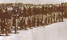 Italian MVSN unit during Ethiopian war
