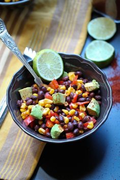 Southwest Lime Corn Salad