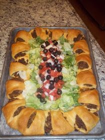 Homegrown Cozy: Taco Ring