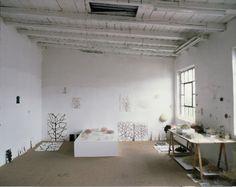 Christiane Loehr, Atelieransicht