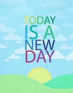 Today is a new day. chicken little disney movie inspirational quote. New Day Quotes, Quote Of The Day, Chicken Little Disney, Kindness Challenge, Tomorrow Is A New Day, Little Things Quotes, Short Inspirational Quotes, Motivational, Quote Prints