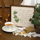 Count your blessings with this free Leisure Arts Cross Stitch pattern