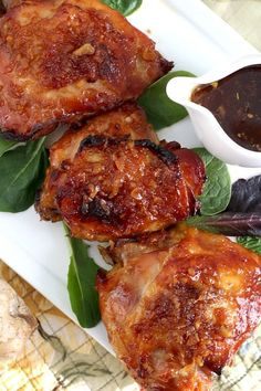 Easy recipe for baked Indonesian ginger chicken with a sticky and delicious sauce. Marinate chicken in a fresh ginger, garlic and soy sauce marinade then bake until tender and moist. Serve over rice for a fabulous, flavor-packed dinner.