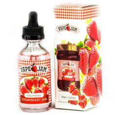 Vape Jam E-Liquid Strawberry Jam - StrawberryJam70% VG