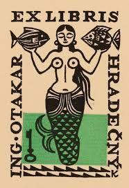 「exlibris mermaid」の画像検索結果
