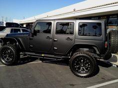 Jeep Rubicon Black Matte All Car Car Picture