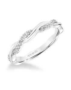 ArtCarved 31-V659W-L Wedding Ring - The Knot