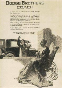 1925  Dodge ad (# 332)
