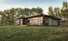 modern prefab ranch - Google Search