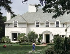 CURB APPEAL – white is always nice. cute dormers on this one!