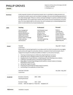 Model For Resume Examples With Key Skills Section What Resumes And