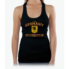Germany Harry Potter Womens Tank Top