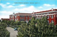 Abilene Texas TX 1940s Hardin Simmons University Collectible Vintage Postcard