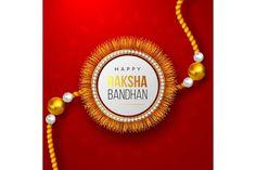 Raksha Bandhan emblems   Pre-Designed Illustrator Graphics ~ Creative Market Raksha Bandhan Greetings, Happy Rakshabandhan, Rakhi, Creative
