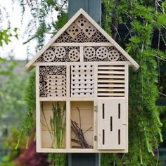 Habitat Hotel - Attracts Beneficial Pollinating Butterflies, Bees, and More