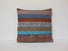 multicolor decorative pillow gypsy turkish cushion transitional kilim pillow pillowcase kilim cushion cover pastel kilim pillow cover blue