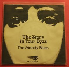 The Moody Blues – The Story In Your Eyes -7 - Threshold Records – TH 6