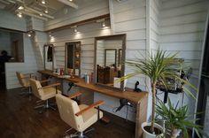尾山台のヘアサロン a hair salon in Oyamadai(Tokyo) インテリア