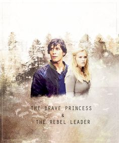 """This is on you, Princess"" ~Bellamy Blake"
