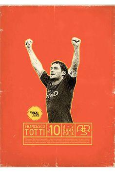 Póster Totti