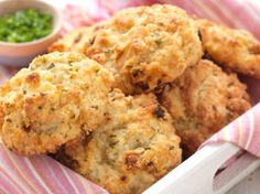Gluten-Free Sun-Dried Tomato-Cheddar-Chive Biscuits