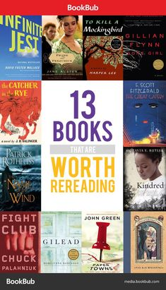 Not only are these books worth reading, these books are so good they're worth reading twice!