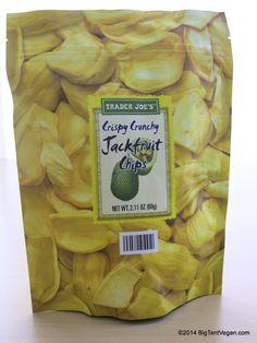 Jackfruit Chips #vegan