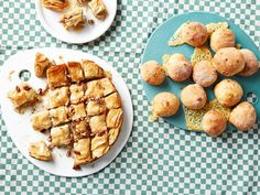 Ruby bakes: These baklava and cheesy doughballs are utterly moreish treats that you'll need to dive in quickly