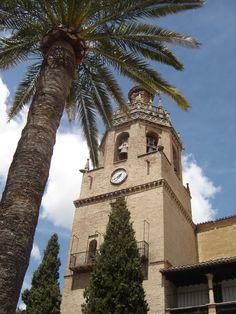 Ronda - Iglesia de Santa María la Mayor  http://bobbovington.blogspot.com.es/2012/03/ronda-article-by-robert-bovington.html