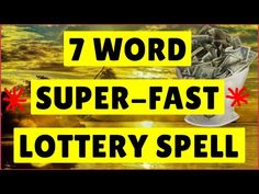Play Slots Games, Live Betting, Sportsbook Live TV, Enjoy Welcome Bonus & Casino Promotion all the year long! Lucky Numbers For Lottery, Winning Lottery Numbers, Lottery Winner, Lotto Winners, Lottery Tips, Lottery Strategy, Financial Prayers, Real Magic Spells, Wish Spell