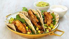 MatPrat - Hjemmelagde tortillalefser fylt med kylling