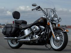 old model softail heritage classic - Google Search