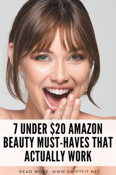 7 Under $20 Amazon Beauty Must-Haves That Actually Work Beauty Secrets, Beauty Hacks, Beauty Tips, Amazon Beauty Products, Sensitive Skin Care, Natural Moisturizer, Beauty Must Haves, Makeup Tips, Makeup Tutorials
