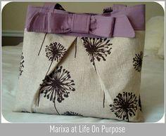 adorable DIY purse