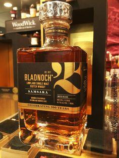 Bladnoch Samsara Bourbon Whiskey, Scotch Whisky, Drink Bottles, Perfume Bottles, Liquor Dispenser, Raisin, Cigars, More Fun, Packaging Design