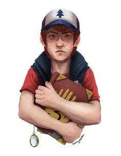 Gravity Falls Dipper fanart by Carly Melton