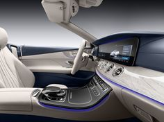 The 2018 model comes with a 12.3-inch display and 64 different ambient lighting options. It supports Apple CarPlay, Android Auto, and Mercedes' COMMAND Navigation system.