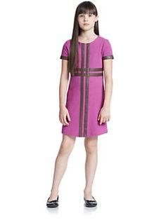 KC Parker - Girl's Ponte Dress