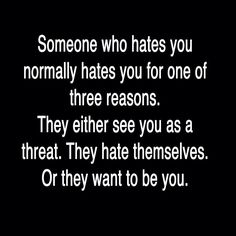 Yes we only hate or judge another because we have a problem of our own we want to deflect our selves from.