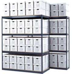 Boltless Shelving is easy to assemble, storage solution. Avail them custom made from Archive Storage, which are compliant with your requirements.